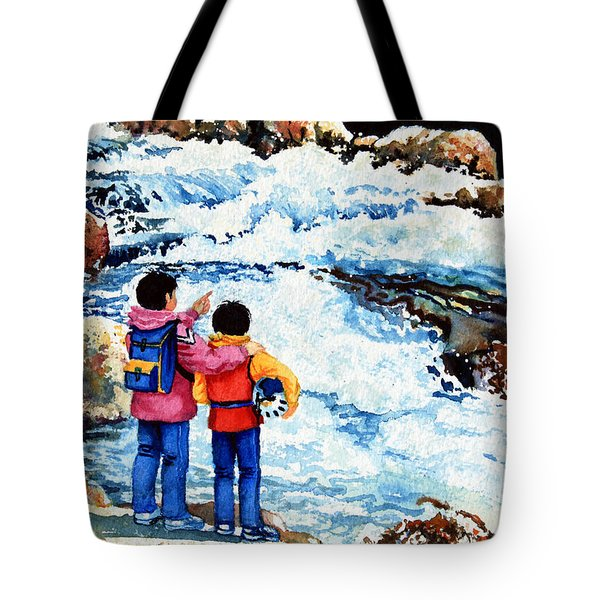 The Kayak Racer 14 Tote Bag by Hanne Lore Koehler