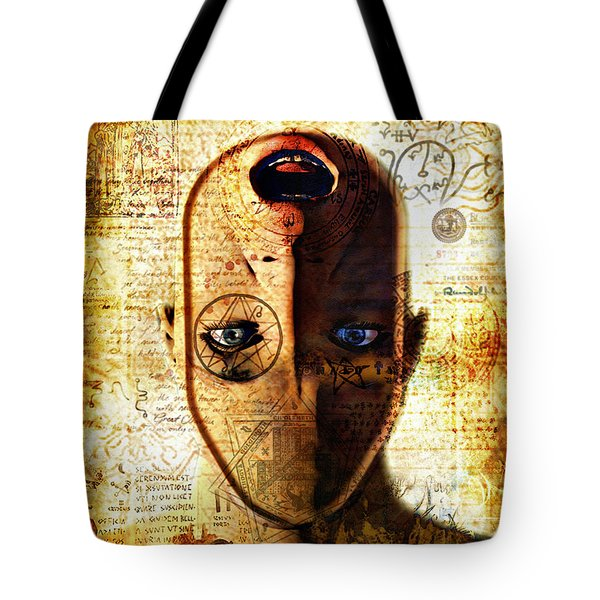 The King In Yellow Tote Bag by Luca Oleastri