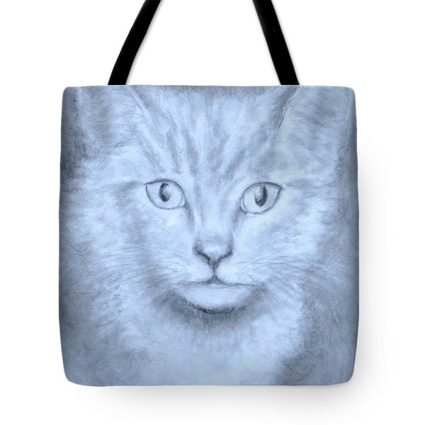 The Kitten Tote Bag by Jack Skinner