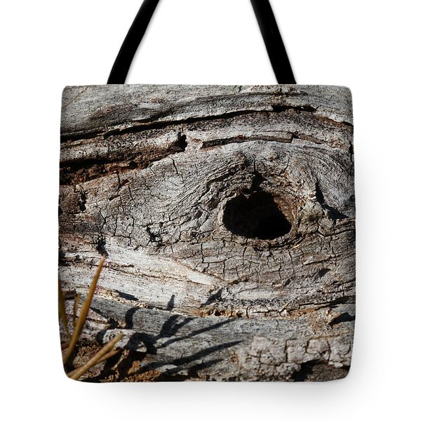 Tote Bag featuring the photograph The Knot by Todd Blanchard