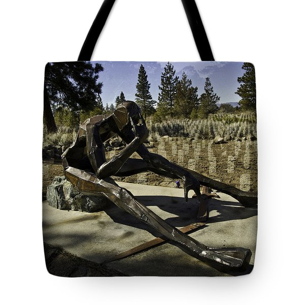 Tote Bag featuring the photograph The Korean Veteran by Larry Depee