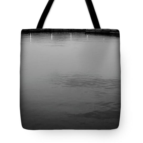 The Lake At Dusk Tote Bag by David Patterson