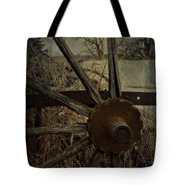 The Land That Turns  Tote Bag by Jerry Cordeiro