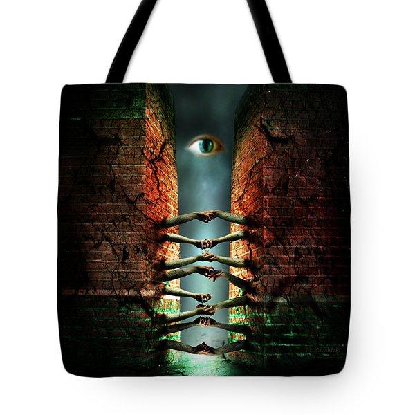 The Last Gate Tote Bag