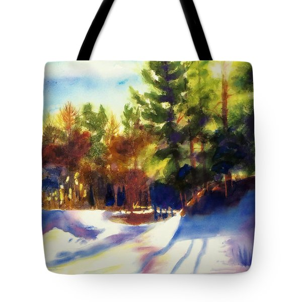The Last Traces II Tote Bag by Kathy Braud