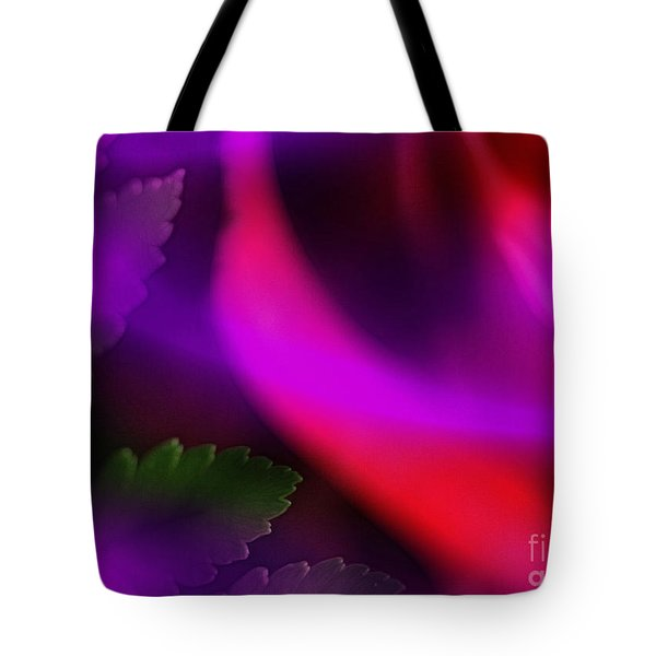 The Leaf And The Rose Tote Bag by Judi Bagwell