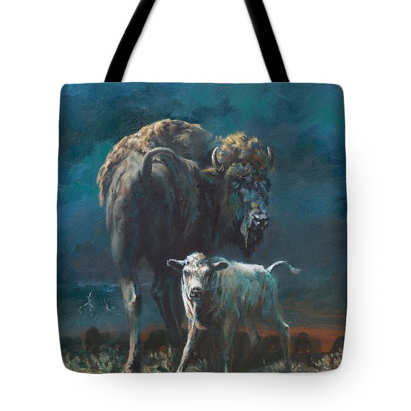 The Legend Begins Tote Bag by Mia DeLode
