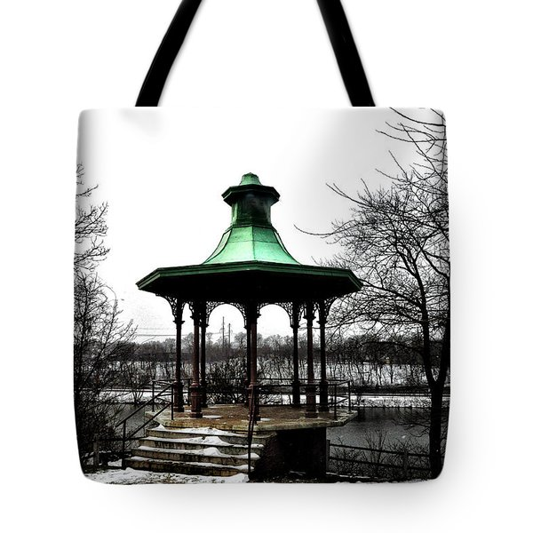 The Lemon Hill Gazebo - Philadelphia Tote Bag by Bill Cannon