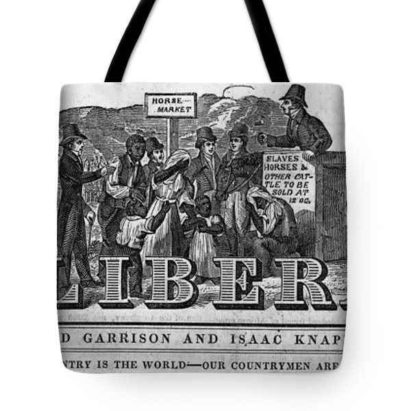 The Liberator Masthead Tote Bag by Photo Researchers
