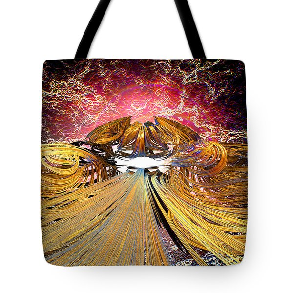 The Light At The End Of The Tunnel Tote Bag by Michael Durst