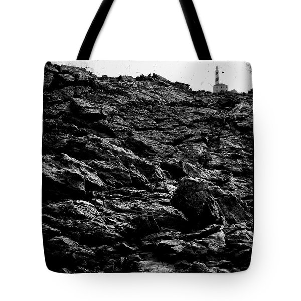 Tote Bag featuring the photograph The Lighthouse1 by Pedro Cardona