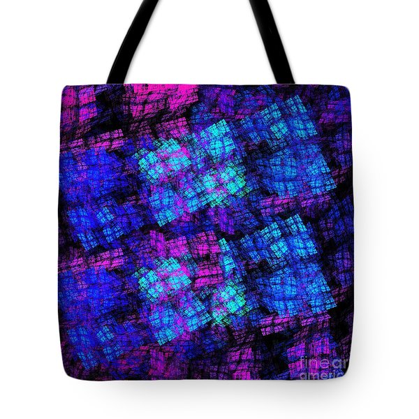 The Lights Are On But No One Is Home Tote Bag by Andee Design