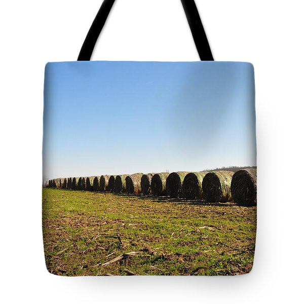 The Line Up Tote Bag by Bill Cannon