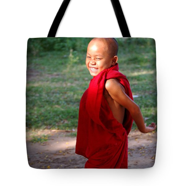 The Little Monk Of Mingun Tote Bag by RicardMN Photography
