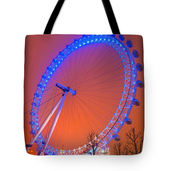 Tote Bag featuring the photograph The London Eye by Luciano Mortula
