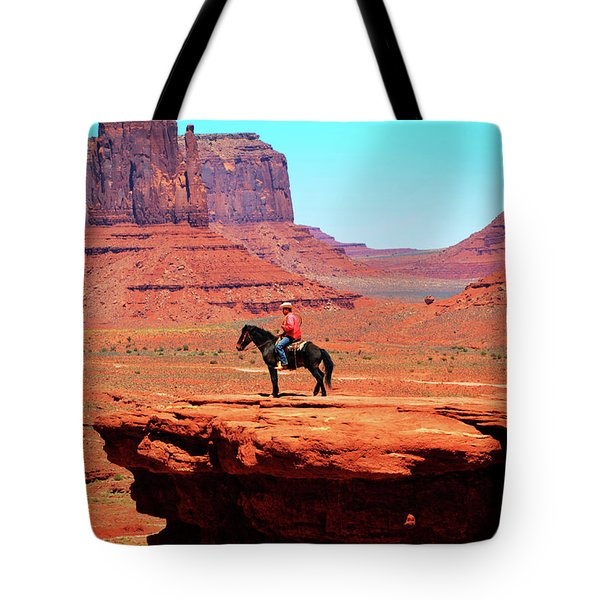 The Lone Indian Tote Bag