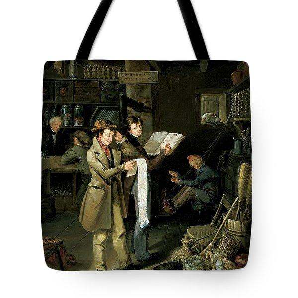 The Long Bill Tote Bag