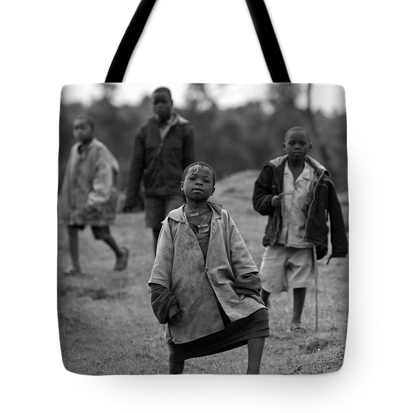 The Lost Boys Tote Bag by Max Waugh