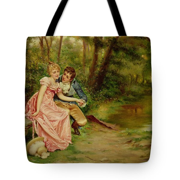 The Lovers Tote Bag by Joseph Frederick Charles Soulacroix