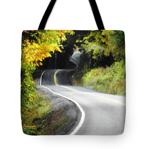 The Low Road Tote Bag by Sadie Reneau