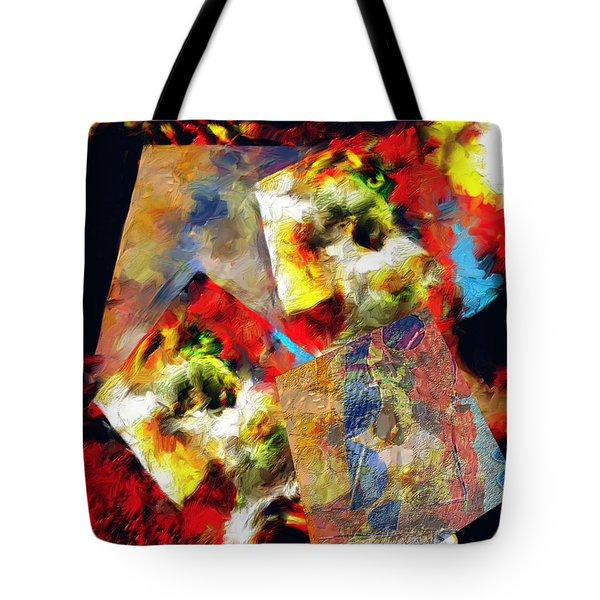 The Luminous Plain Of Existence Tote Bag