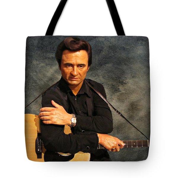 The Man In Black Tote Bag