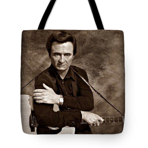 The Man In Black S Tote Bag