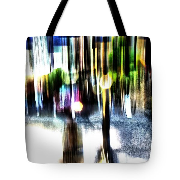 The Man In The Door Tote Bag by Terence Morrissey