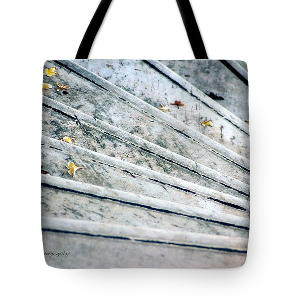 The Marble Steps Of Life Tote Bag