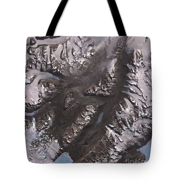 The Mcmurdo Dry Valleys West Of Mcmurdo Tote Bag by Stocktrek Images