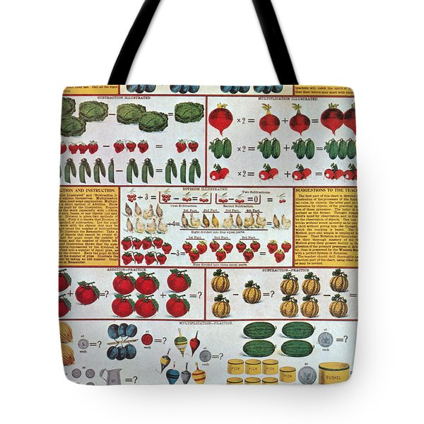 The Mechanics Of Arithmetic Tote Bag by Science Source