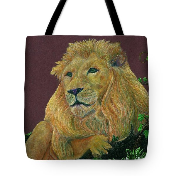 The Mighty King Tote Bag by Jyvonne Inman