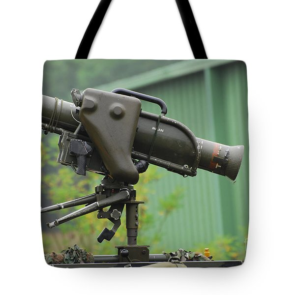 The Milan, Guided Anti-tank Missile Tote Bag by Luc De Jaeger