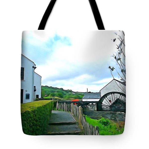 Tote Bag featuring the photograph The Mill by Charlie and Norma Brock