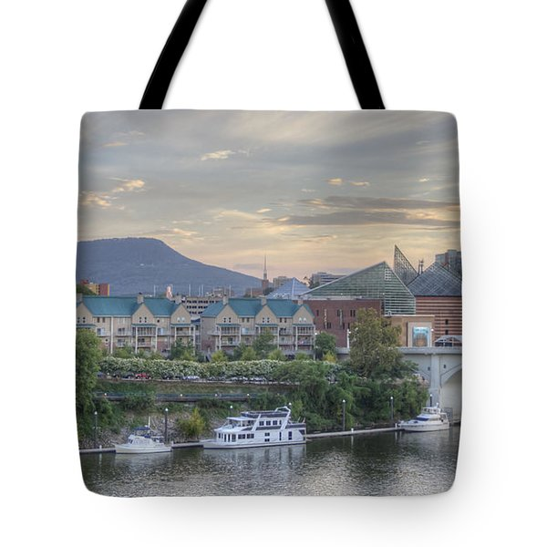 The Mountain Tote Bag by David Troxel