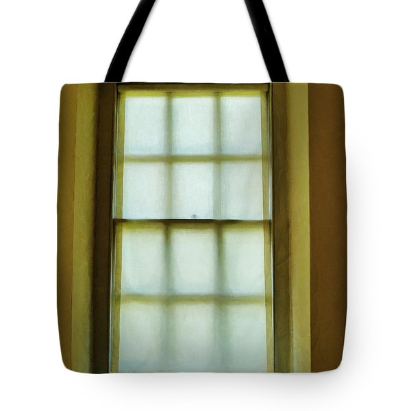 The Mustard Window Tote Bag by Steve Taylor