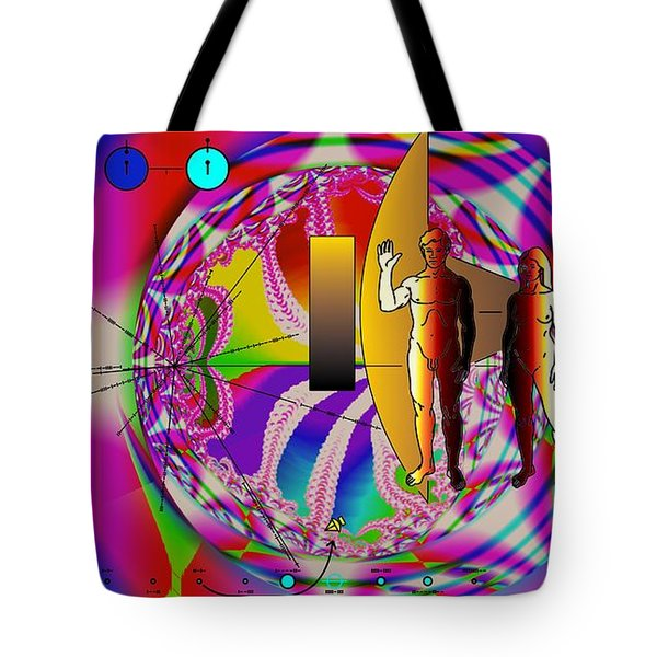 The New View Of Science Tote Bag by Helmut Rottler