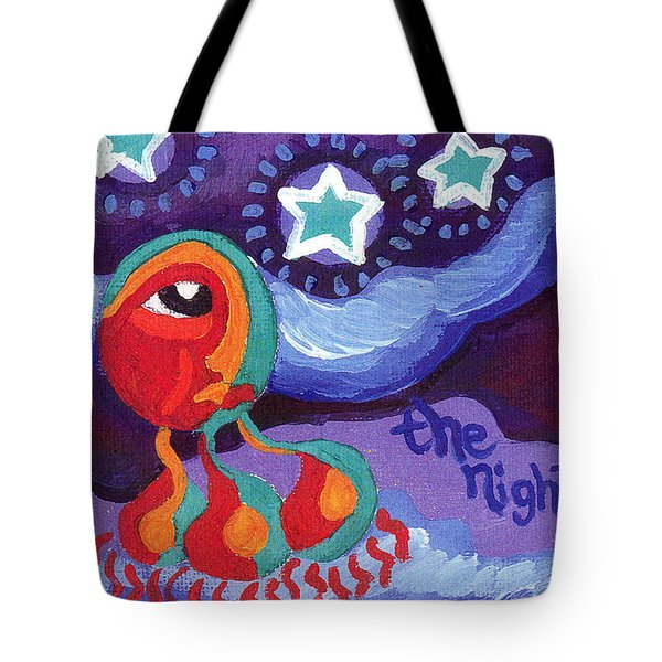 The Night Sky Tote Bag by Genevieve Esson