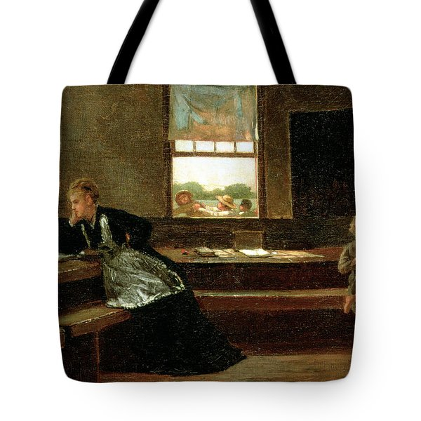 The Noon Recess Tote Bag by Winslow Homer