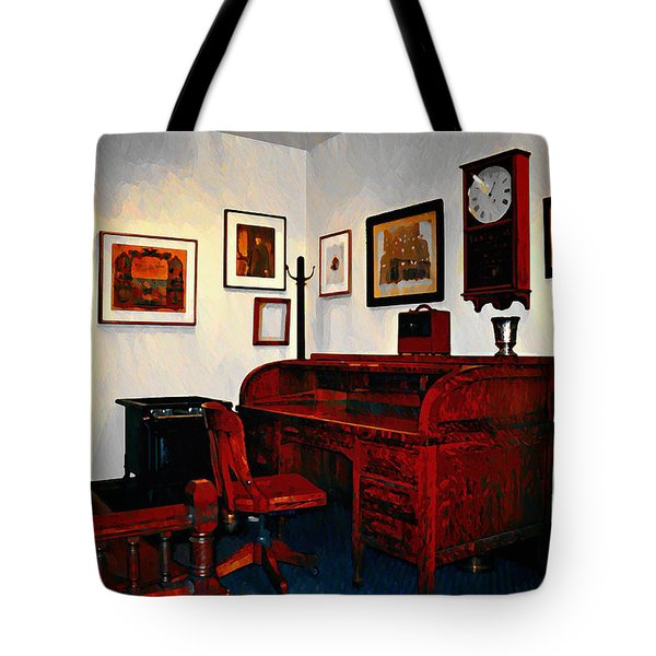 The Office Tote Bag by Bill Cannon