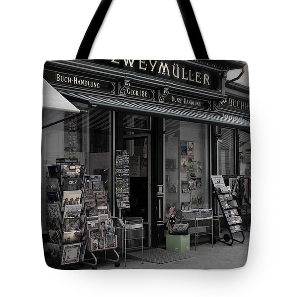 The Old Bookstore Tote Bag