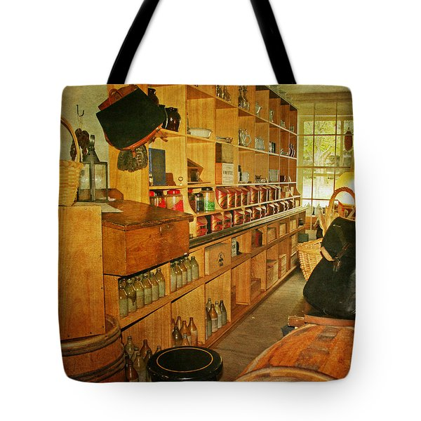 The Old Country Store Tote Bag by Kim Hojnacki