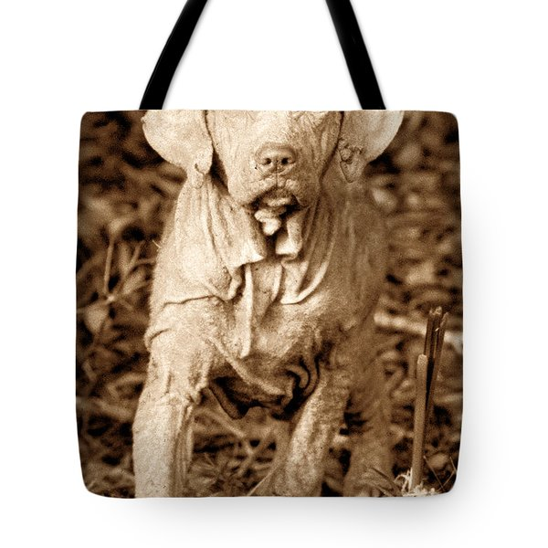 The Old Hunter Tote Bag by David Lee Thompson