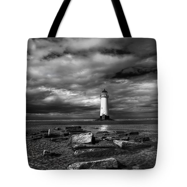 The Old Lighthouse  Tote Bag by Adrian Evans