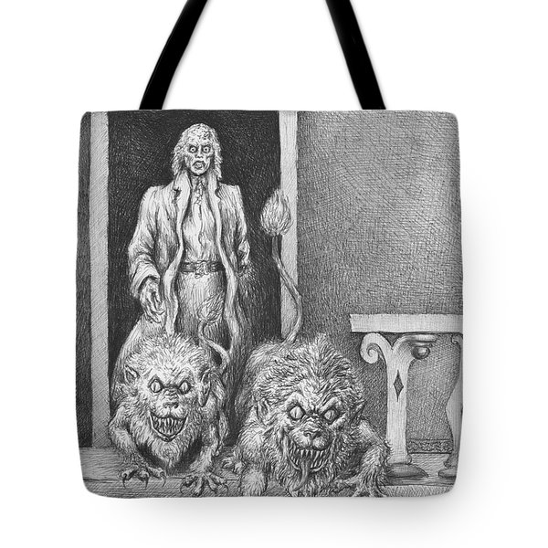 The Old Man's Dogs Tote Bag