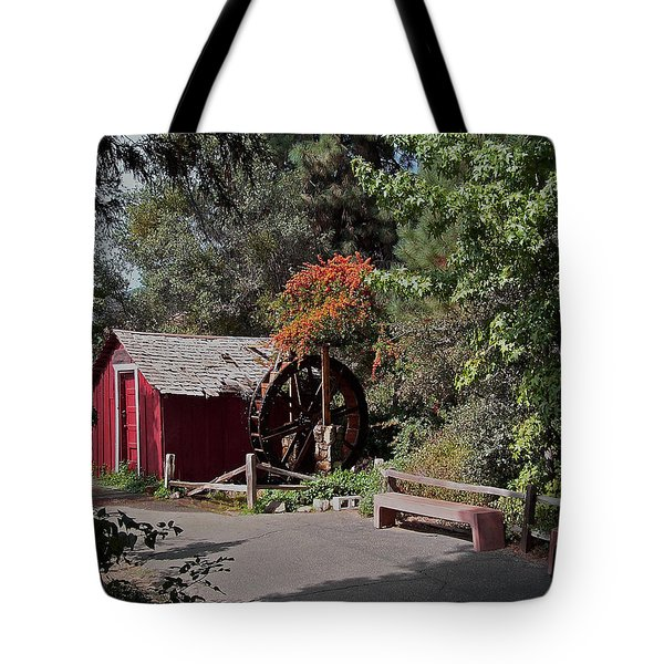The Old Mill 1 Tote Bag by Ernie Echols