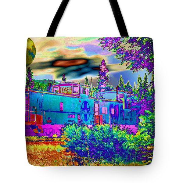The Old Santa Fe Tote Bag by Joyce Dickens