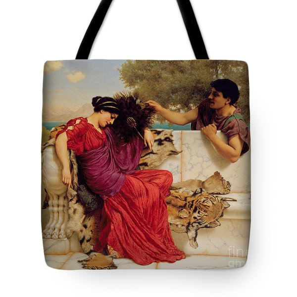 The Old Story Tote Bag by John William Godward