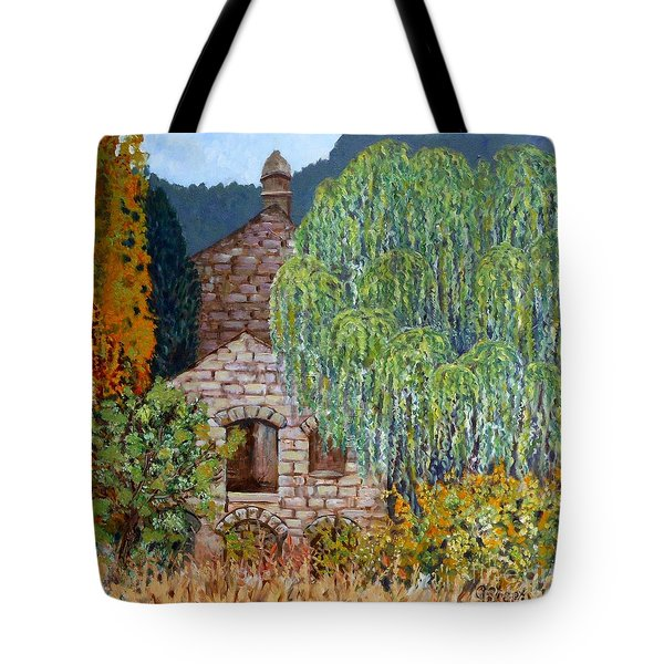 The Old Willow Tree Tote Bag by Caroline Street