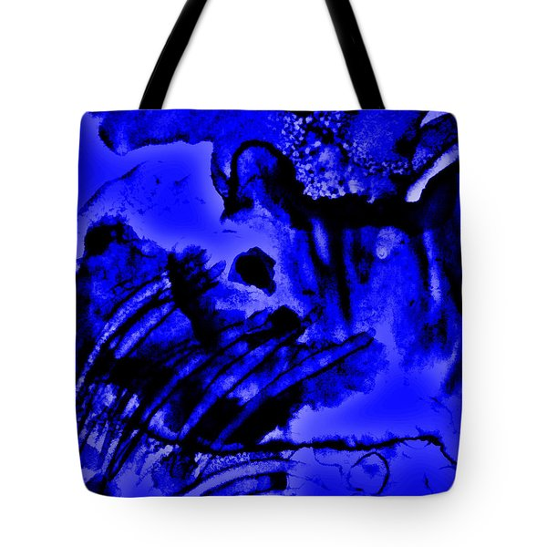 The Origins Of Blue Tote Bag by Rory Sagner